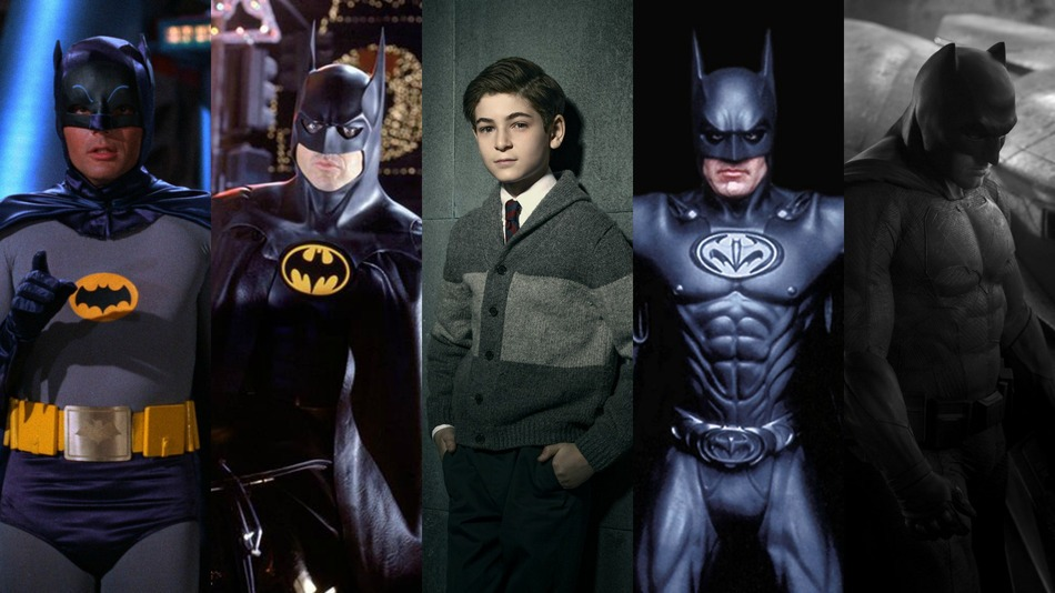 Batman en sus distintas adaptaciones a la TV y el cine.