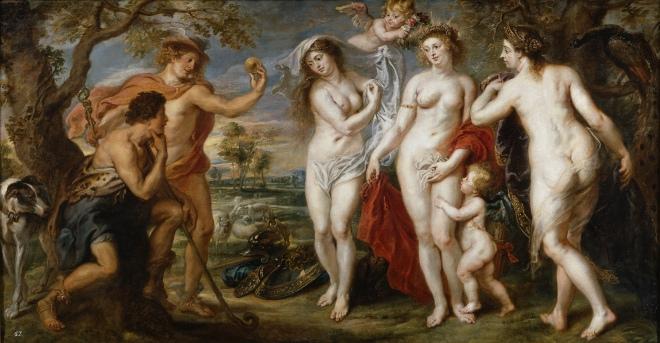 El juicio de Paris, de Paul Rubens