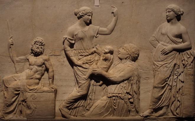 Nacimiento de Erictonio