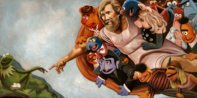 Creación de los Muppets, Las creaciones vienen y van, imitando a Miguel Ángel #culturaquemadura