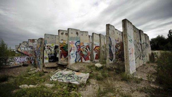 Secciones del muro en Teltow, Berlín