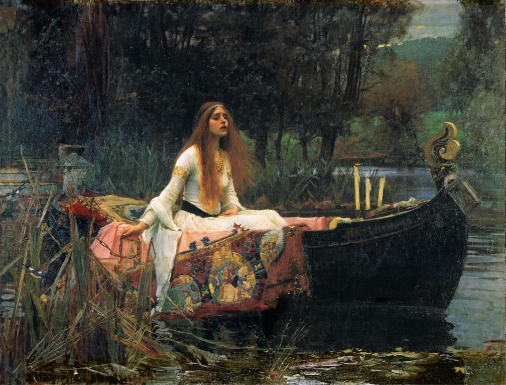 La dama del lago (1888), de John William Waterhouse