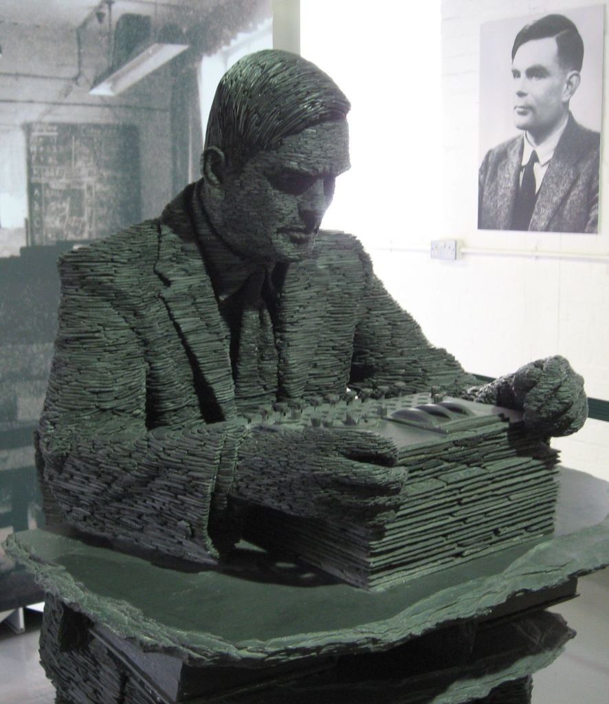 Estatua de Alan Turing