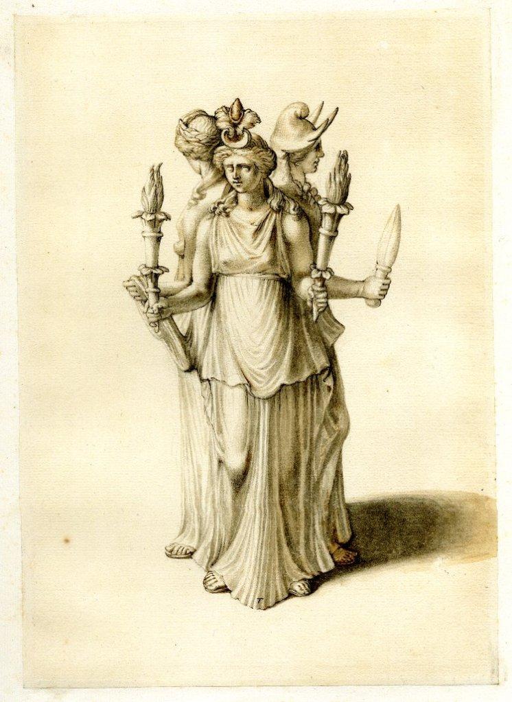 Hécate, la diosa de tres rostros