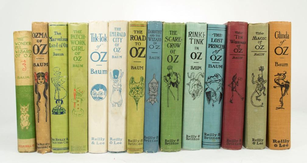 Los 14 libros de Oz