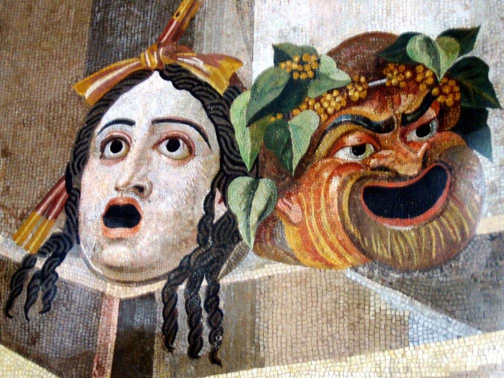 Máscaras de la Tragedia y la Comedia