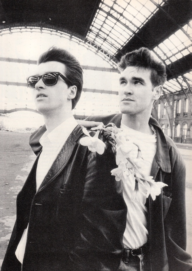 Johnny Marr y Morrissey