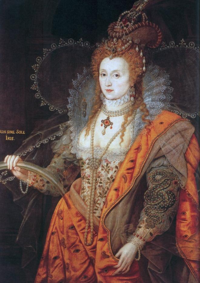 Isabel I de Inglaterra 7 frases grandes frases en el lecho de muerte #culturaquemadura