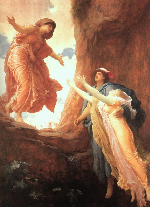 El regreso de Persefóne (1891), de Frederic Leighton
