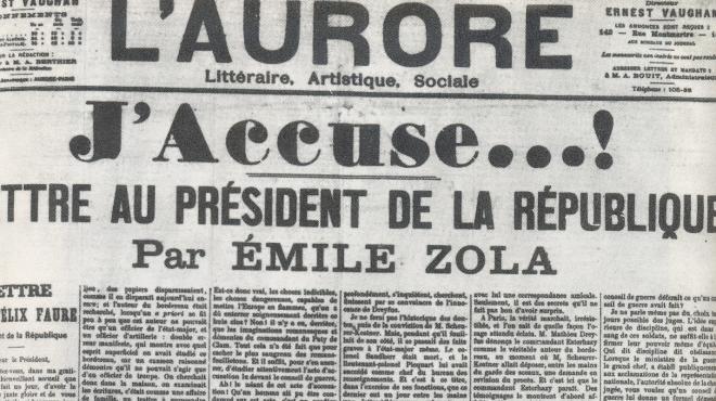 L'Aurore, J'Accuse, 7 entradas de Wikipedia que tienes que leer ya #culturaquemadura