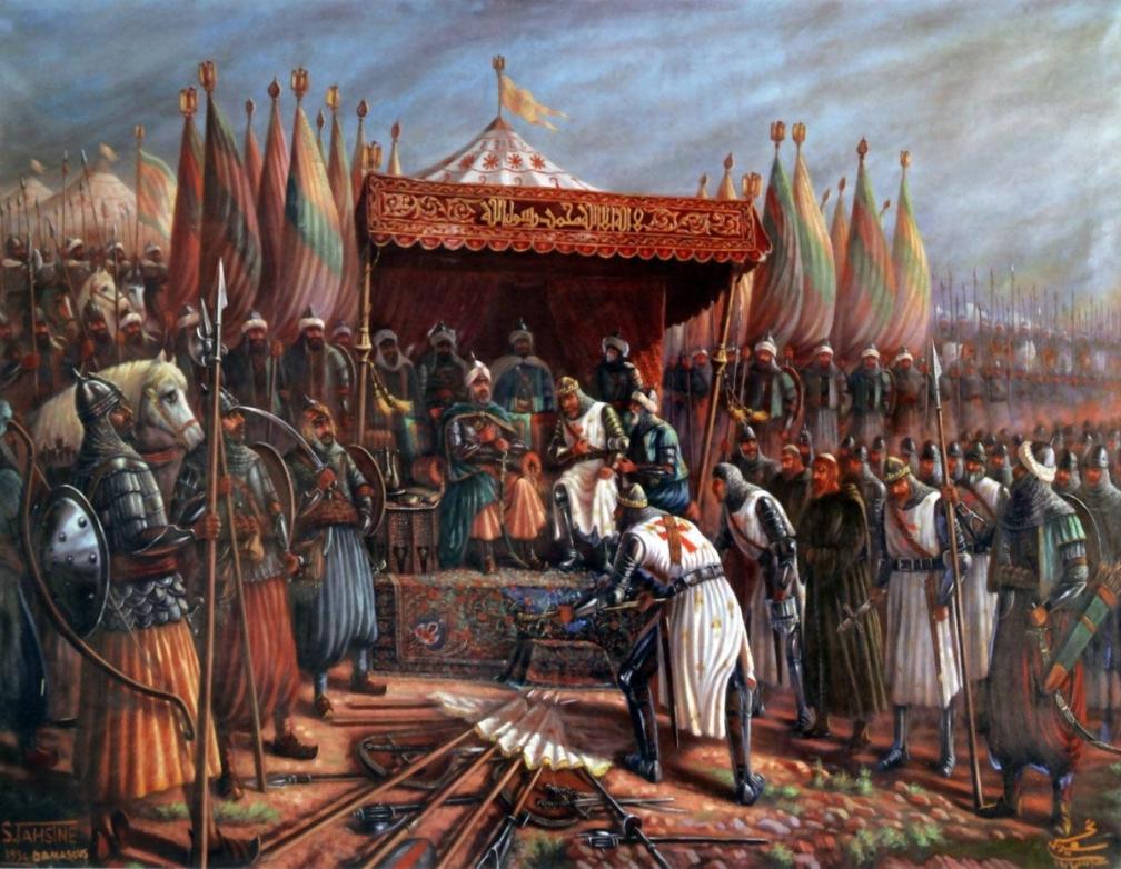 Saladino conquista Jerúsalen Entre Feudos y Monarcas: Las Cruzadas Parte II #culturaquemadura