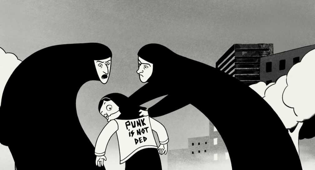 5 geniales cómics sin superhéroes #culturaquemadura Persépolis Marjane Satrapi