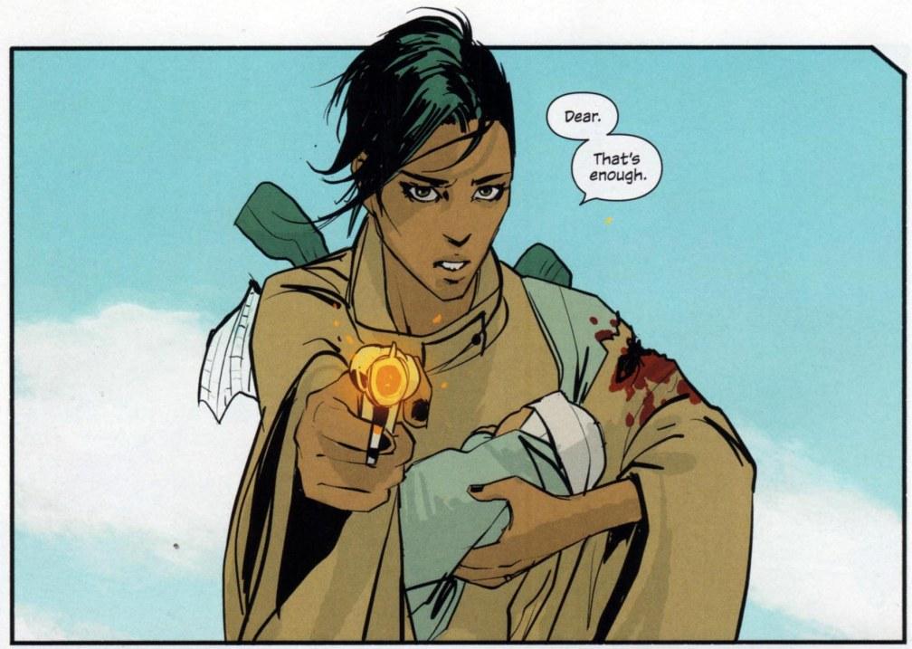5 geniales cómics sin superhéroes #culturaquemadura Saga Brian K. Vaughan Fiona Staples