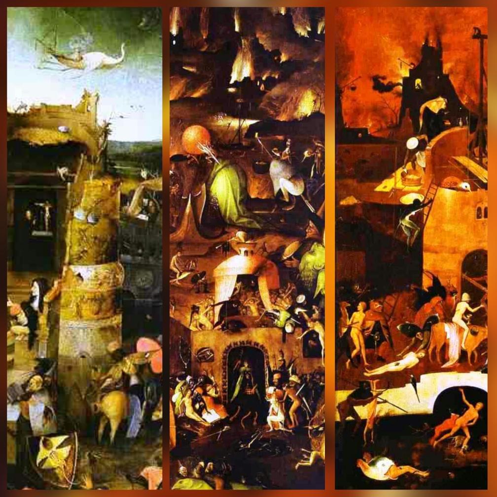 Los Nueve Infiernos: La Historia del Mal: Primera Parte #culturaquemadura El Bosco