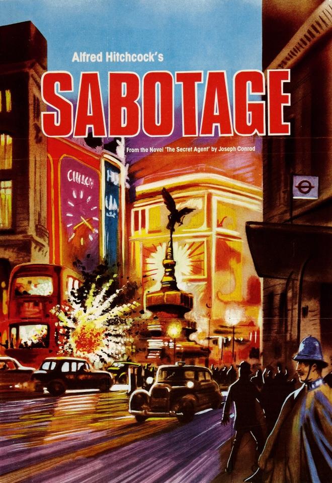 Sabotage, Alfred Hitchcock: el amo de las adaptaciones libres #culturaquemadura