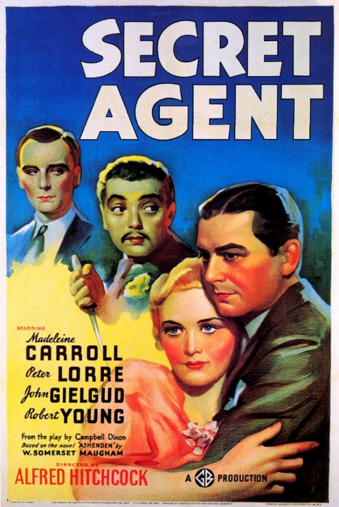 Secret Agent, Alfred Hitchcock: el amo de las adaptaciones libres #culturaquemadura
