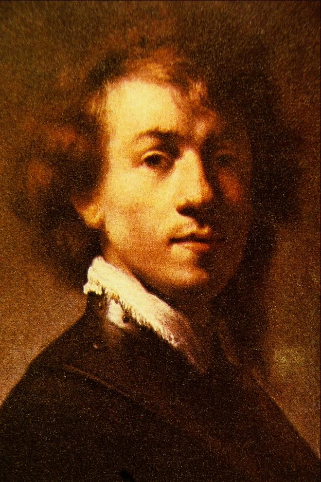 Autorretrato de Rembrandt (1629)