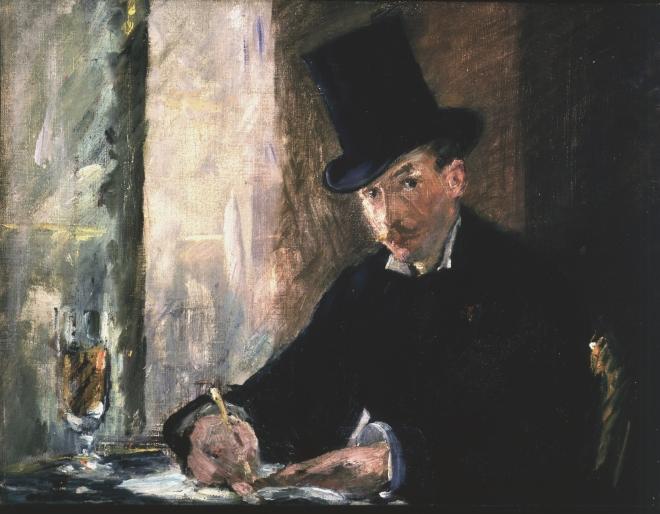 Chez Tortoni, Manet, (1878–1880)