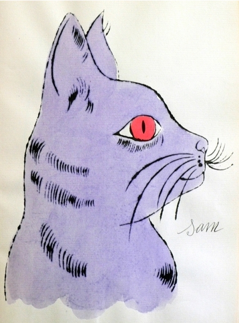 Sam (Purple), 1954 From the series From the 25 Cats named Sam and one blue pussy portfolio