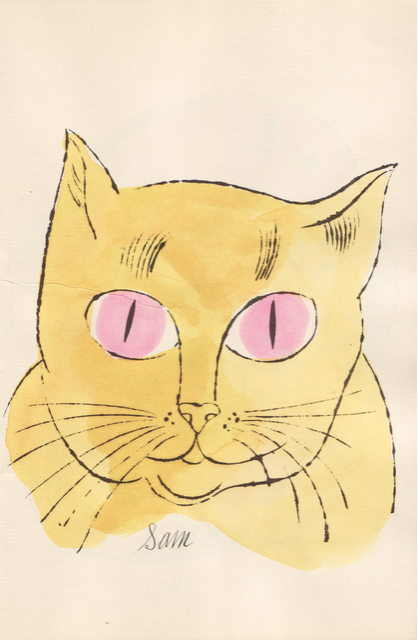 (Yellow Sam with Pink Eyes), ca. 1954