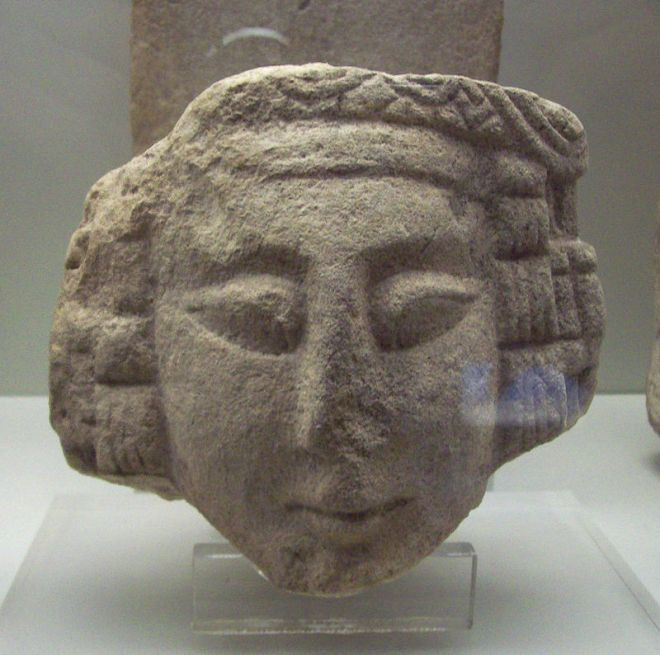 Estatua ibérica del periodo romano, como las que Picasso usó para crear Las señoritas de Avignon