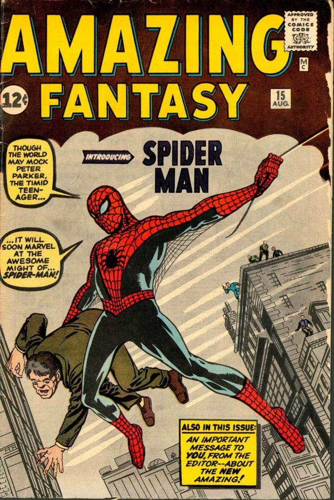 Amazing Fantasy #15, Spider-Man o la proeza de ser uno mismo #culturaquemadura