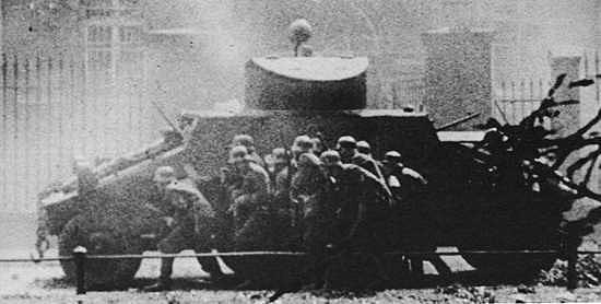 Toma de la ciudad de Danzig durante la invasión Nazi de 1939