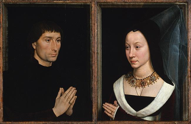 Tommaso di Folco Portinari (1428–1501) y Maria Portinari (1456–?), Hans Memling (c.1470)